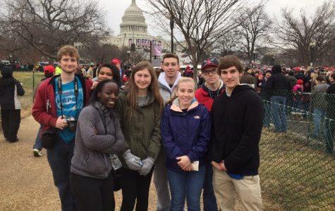 Conrad Rho Kappa Goes to Washington for Inauguration