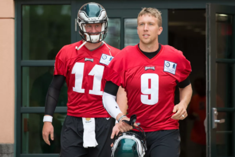 Wentz Suffers Injury.
