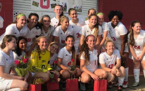 Conrad Girls Soccer Senior Night!