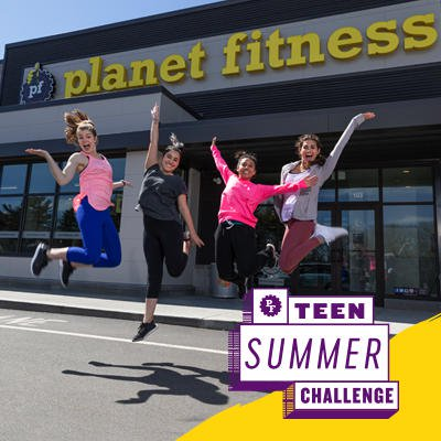 Planet Fitness Free to Teens!