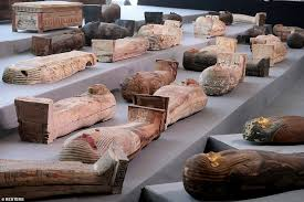 100 New Coffins Discovered in Egypt