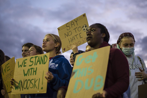 Fans Support Winooski High After Facing Racist Abuse