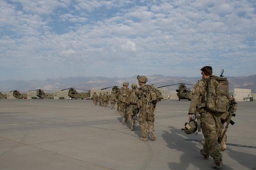America Leaving Afghanistan